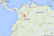 Plane crashes in Colombia; 10 believed dead
