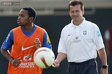 Dunga picks Robinho for Argentina match