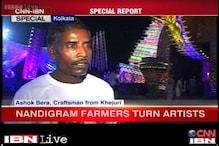 Kolkata: Nandigram sculptors bury a turbulent past to work devotedly to create Durga idols