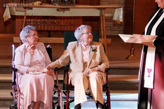 Two old lesbians