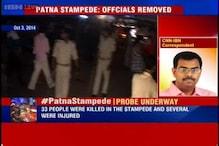 Patna stampede: Bihar government removes four senior oficials, admits serious lapses