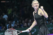 Halep thumps Radwanska to set up rematch with Serena at WTA Finals