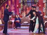 In Pics: Shah Rukh Khan, Deepika Padukone, Farah Khan promote 'Happy New Year' on 'Comedy Nights with Kapil'