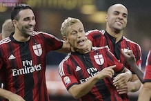 Honda leads AC Milan to 2-0 win over Chievo in Serie A