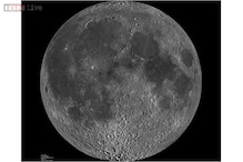 Giant basin on the moon known as 'man in the moon' may have been created by a volcano