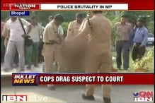 Bhopal: Man accused under Arms act, dragged to court in chains by police