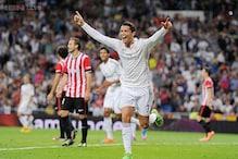 Ronaldo nets hat-trick as Real Madrid thrash Athletic Bilbao 5-0