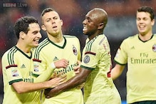 AC Milan beat Udinese 2-0; Genoa win 3-0 at Cesena in Serie A