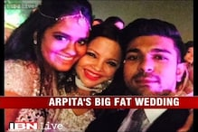 e Lounge: Arpita Khan's big fat wedding