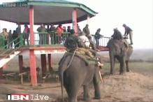 Watch: Assam Chief Secretary enjoys elephant ride a day after the Bodo militant attack