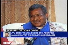 JVM open to all options for post-poll alliance: Babulal Marandi