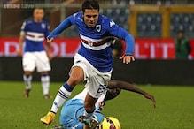 Serie A: Ten-man Napoli salvage 1-1 draw at Sampdoria
