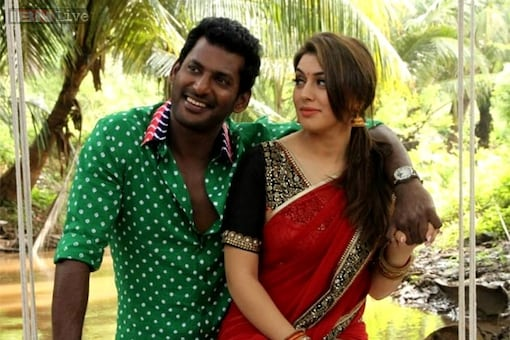 'Aambala' review: This Vishal, Hansika Motwani-starrer is a mash-up of overdone action, insane comedy and loud music