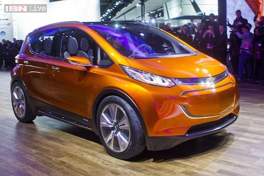 Chevrolet Bolt: General Motor's concept electric car can travel up to 320 kms on a single charge