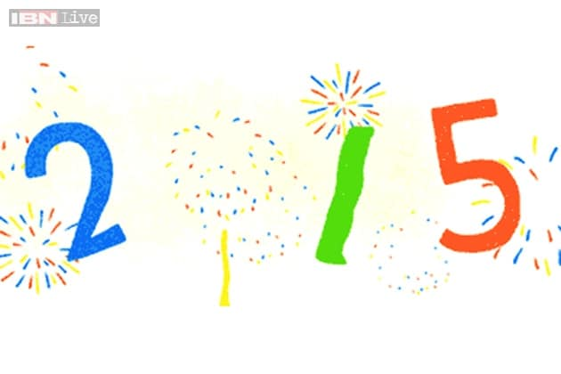 new year 2015 google wishes happy new year with an animated doodle news18