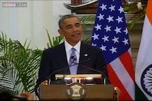 Obama starts his address to media in Hindi; says 'Namaste! Pyar bhara namaskar'