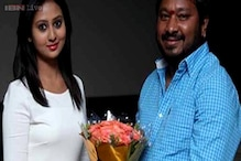 Kannada filmmaker R Chandru gets emotional during the audio launch of his upcoming film 'Male'