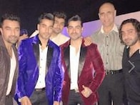 'Bigg Boss 8' bash: Farah Khan parties with Gautam Gulati, Rahul Mahajan, Sana Khan