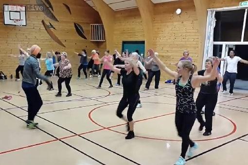 Watch: Bhangra dance cardio class