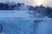 How Niagara Falls freezes ... or does it?