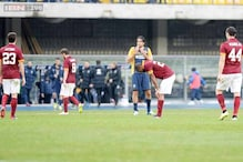 Serie A: Roma's title hopes fade after 1-1 draw at Hellas Verona