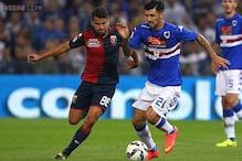 Sampdoria and Genoa draw Serie A derby match 1-1