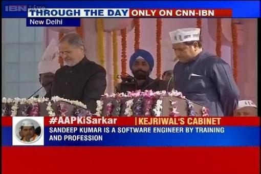'AAP' Ki Sarkar: 'Giant killer' Sandeep Kumar gets ministerial berth