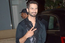 Photos: Shahid Kapoor shows a victory sign, celebrates birthday with brother Ishan Khatar, friends