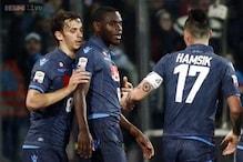 Duvan Zapata leads Napoli closer to Roma in Serie A