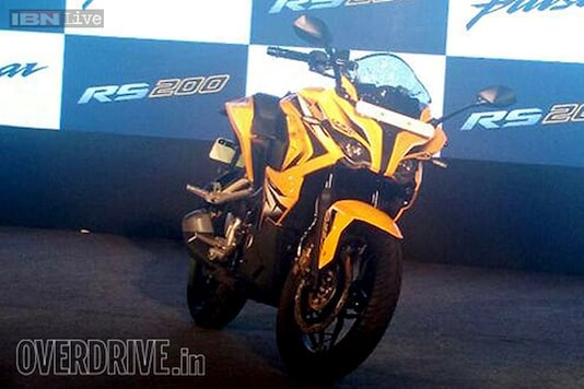 Bajaj Pulsar RS200: The fastest Pulsar yet launched at Rs 1.18 lakh in India