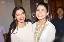 New BFFs in town? Deepika Padukone plants a kiss on Anushka Sharma's cheek at the censor board meet