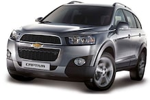 General Motors launches the updated Chevrolet Captiva in India at Rs 25.13 lakh