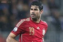 Striker Diego Costa back with Spain