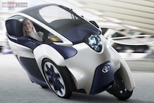 Toyota's new iRoad is a two-seater electric car