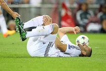 Karim Benzema out injured before Real Madrid's match against Atletico Madrid