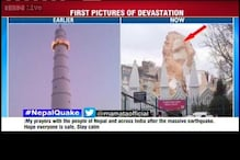 Historic Dharara Tower collapses in Kathmandu after quake
