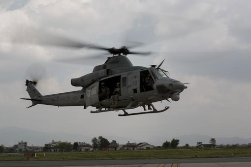 Nepal army finds wreckage of missing US chopper
