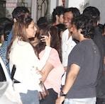 Photos: Anushka Sharma celebrates her birthday with Ranbir Kapoor, Karan Johar during 'Bombay Velvet' special screening