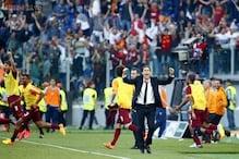Dramatic derby win sends Roma into Champions League