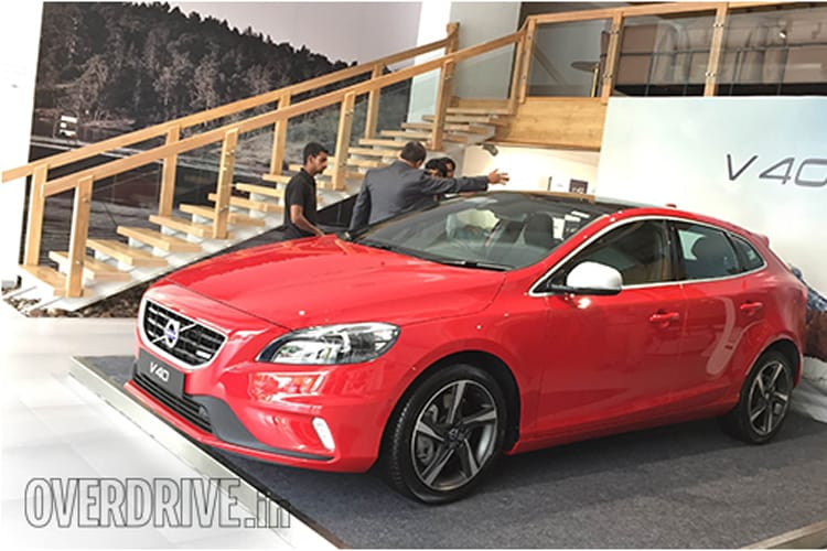 Volvo launches V40 hatchback at Rs 24.75 lakh in India - News18