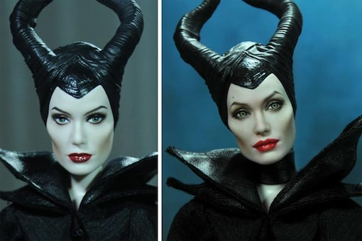 This artist repaints celebrity dolls and makes them look almost real