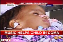 Music therapy wakes 2-year-old child in coma
