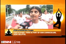 NCC cadets perform Yoga as part of Yoga Day celebrations in Bengaluru
