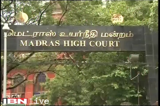 File photo of Madras High Court.