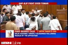 All 3 BJP MLAs marshalled out of Delhi Assembly