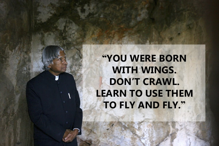 Apj abdul kalam quotes that will inspire you for life news18 for Abduls indian bengali cuisine