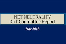 Read the full text of DoT committee report on net neutrality
