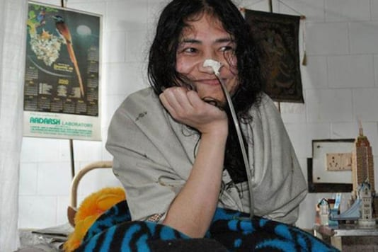File picture of social activist Irom Chanu Sharmila.
