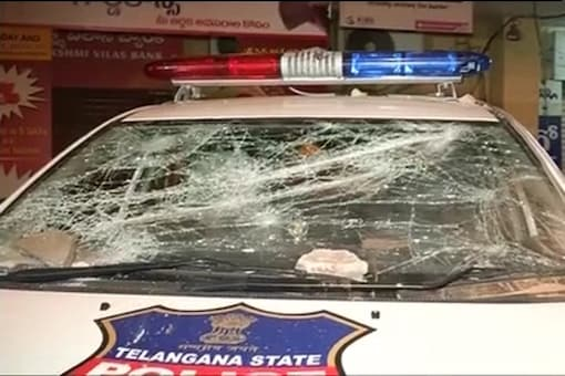 Mob attacks police station in Secunderabad over death of man