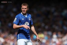 Everton's James McCarthy hopes to halt Manchester City's perfect run